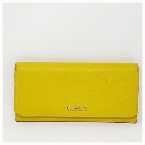 Authentic Fendi Long Wallet